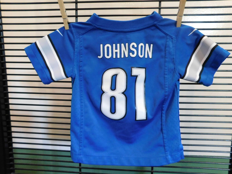 Toddler Detroit Lions Johnson Jersey