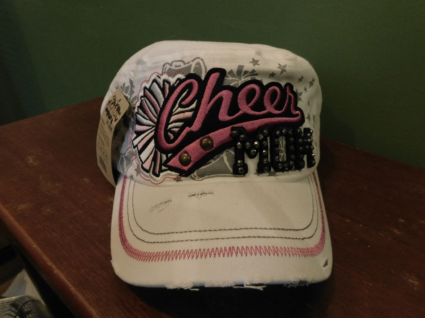 Cheer Mom Baseball Style Cap