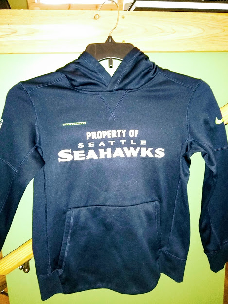 Size Medium Seattle Seahawks Hoodie