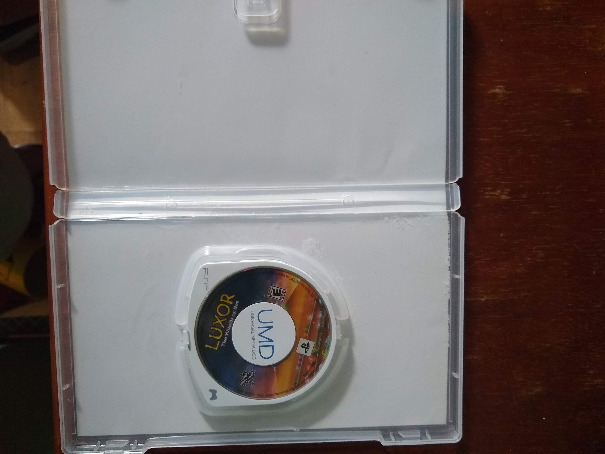 PSP Luxor The Wrath of Set Mumbo Jumbo