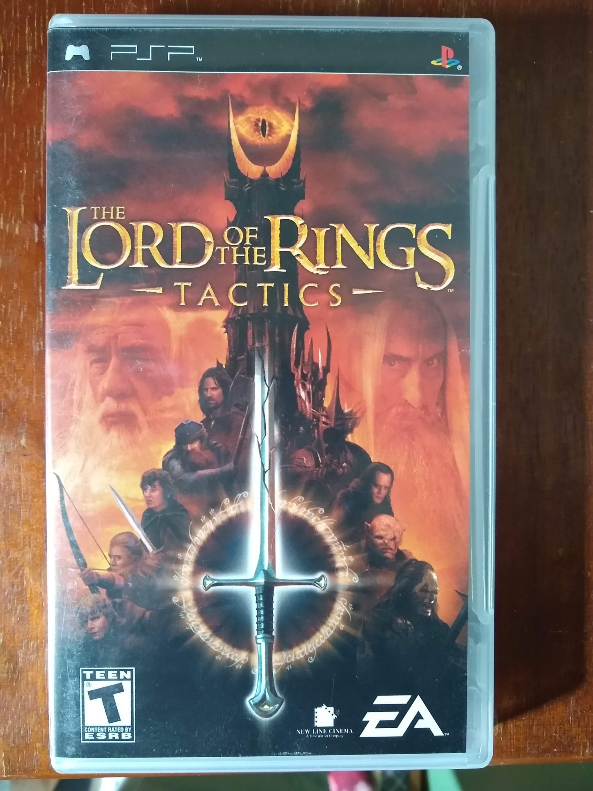 PSP The Lord of the Rings Tactics