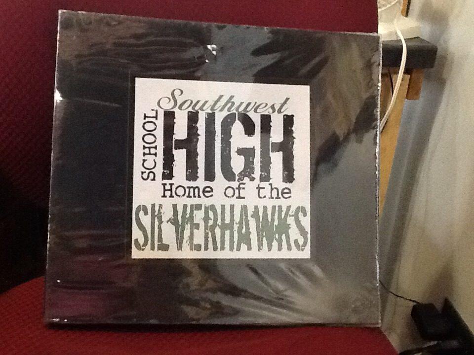 Southwest Silverhawks scrapbook