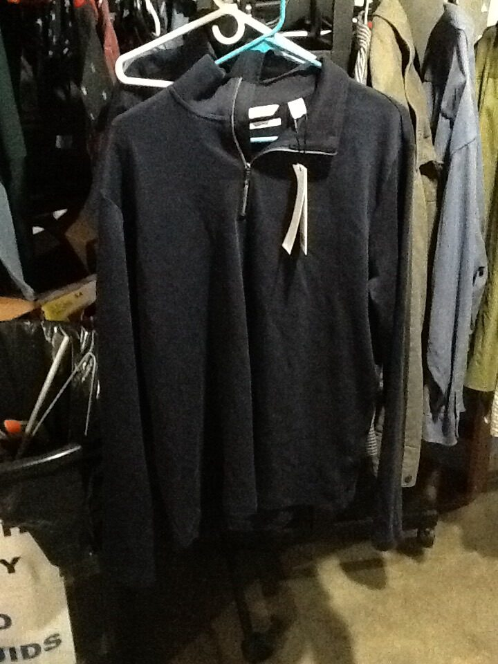 Navy Calvin Klein 1/4 zip large