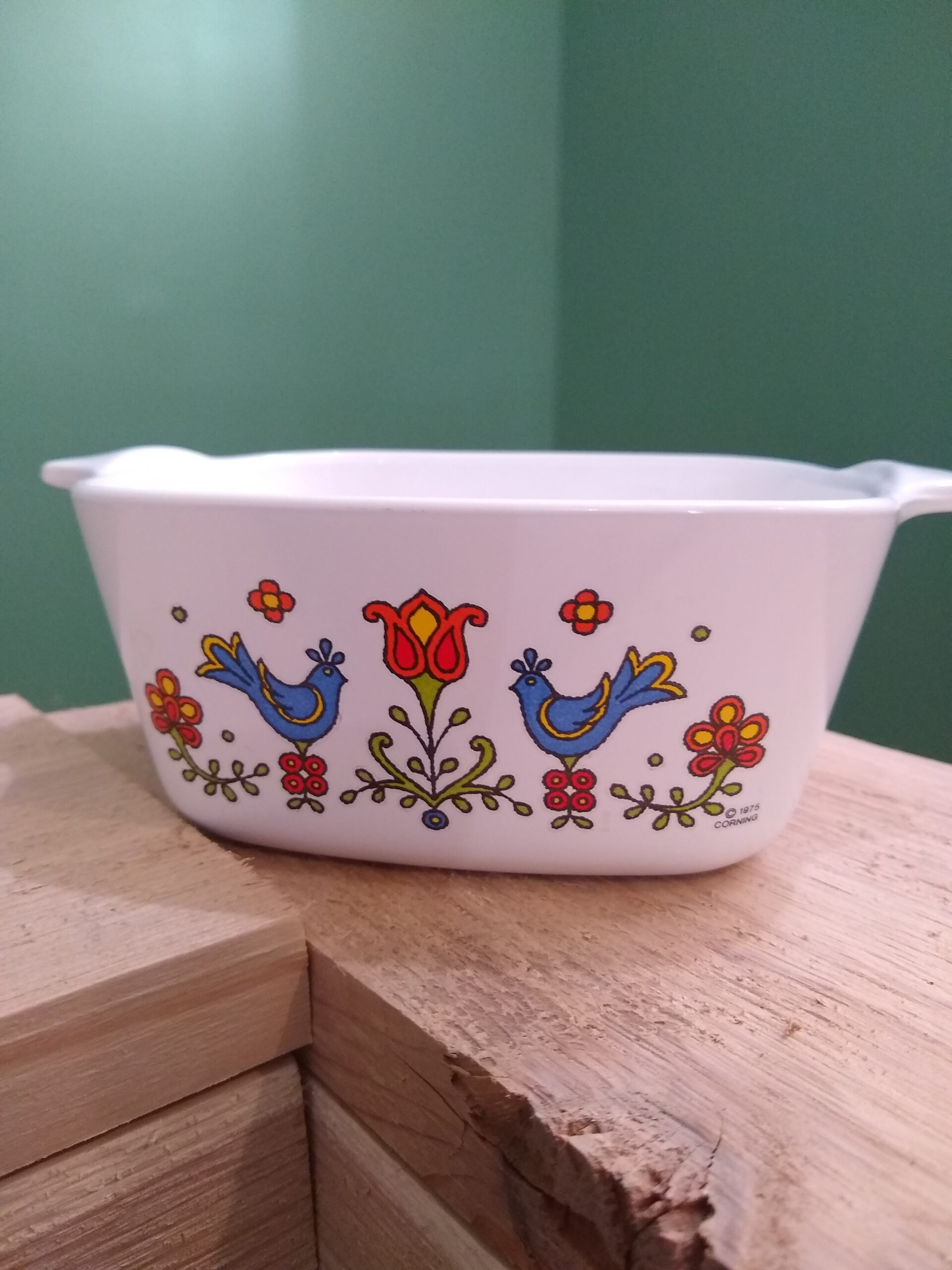 Corningware Country Festival Blue Bird Friendship