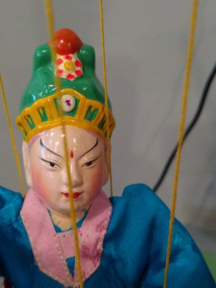 Chinese Marionette Porcelain Puppet